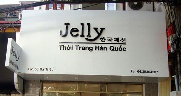 Bảng hiệu chữ nổi mica đẹp quận Q.Hoàng Mai - Biển Quảng Cáo Hà Nội
