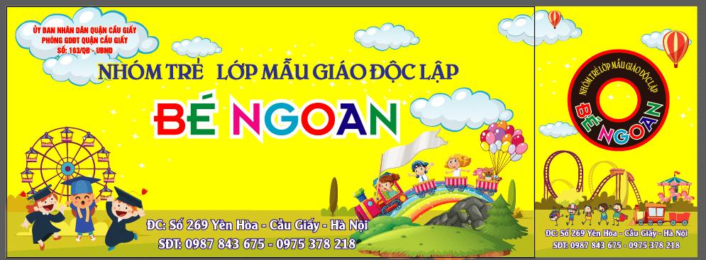 làm biển quảng cáo trường mầm non tại Hà Nội