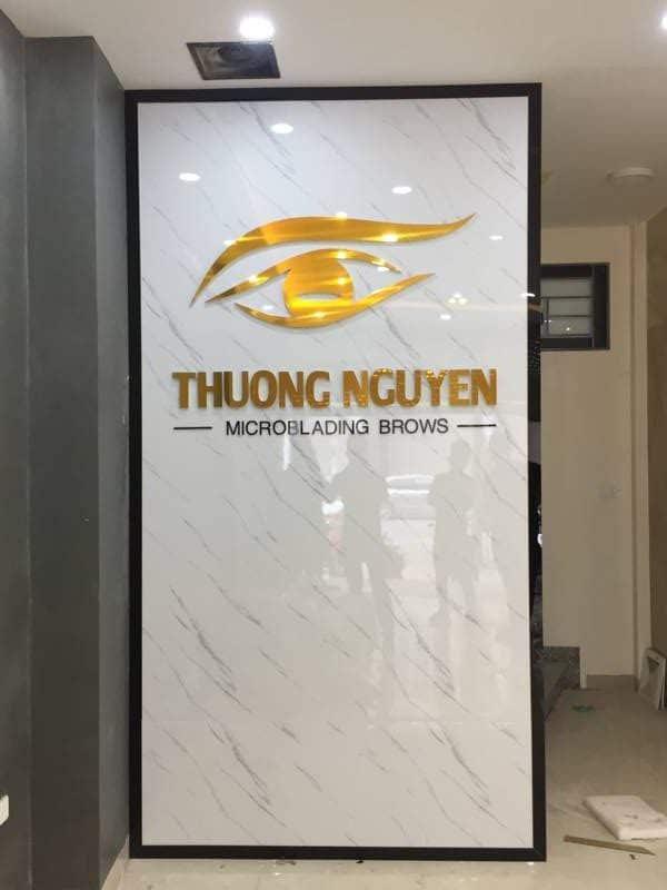 logo spa trong nhà