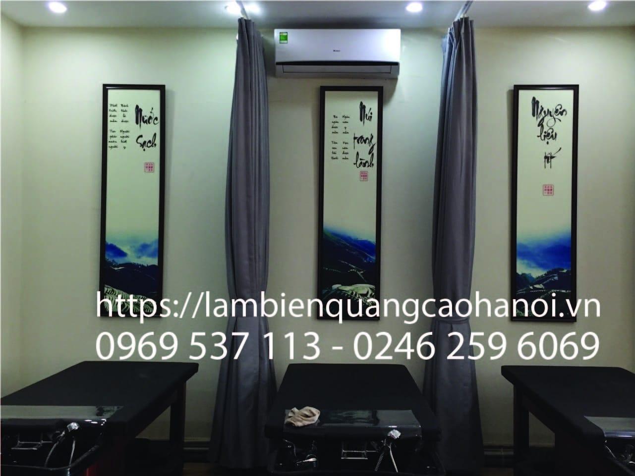 Làm biển quảng cáo Spa, thẩm mỹ viện chuyên nghiệp tại Mỹ Đình, Hà Nội