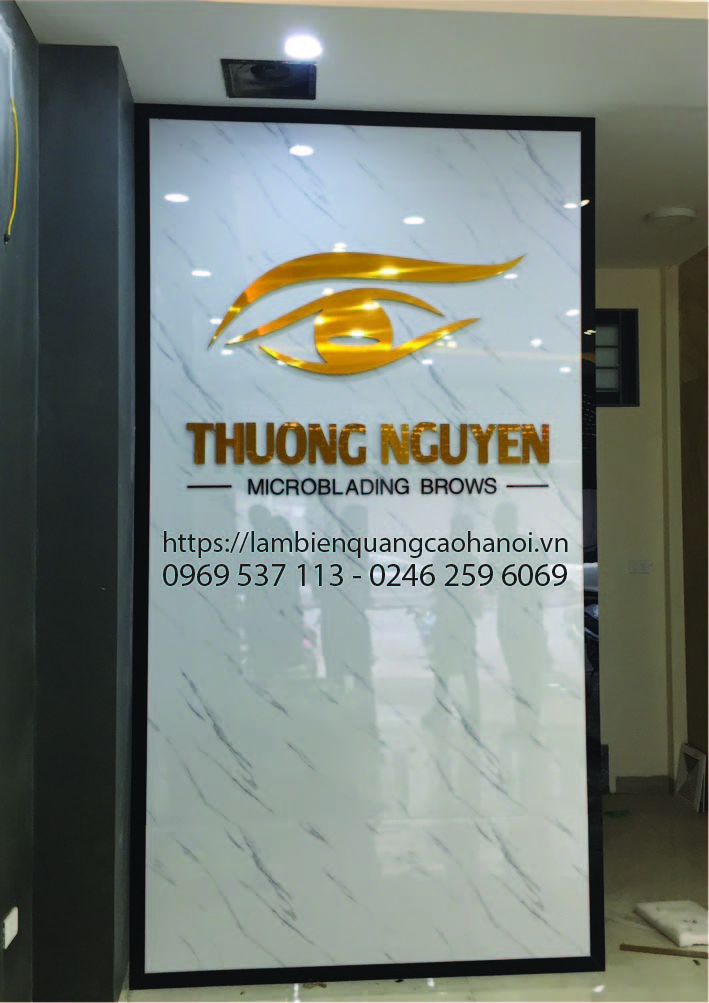 Logo công ty - Chuyên làm biển bảng quảng cáo tại Mỹ Đình, Hà Nội