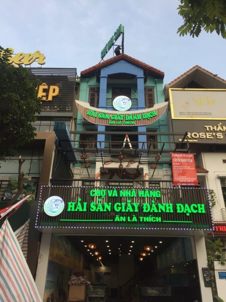 Làm biển quảng cáo tại Cầu Giấy, Hà Nội