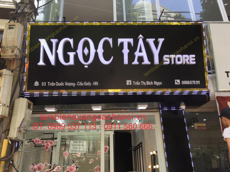 Mẫu Bảng Hiệu Shop Quần Áo Đẹp